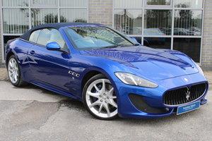 2013 13 MASERATI GRANCABRIO 4.7 V8 SPORT AUTO For Sale