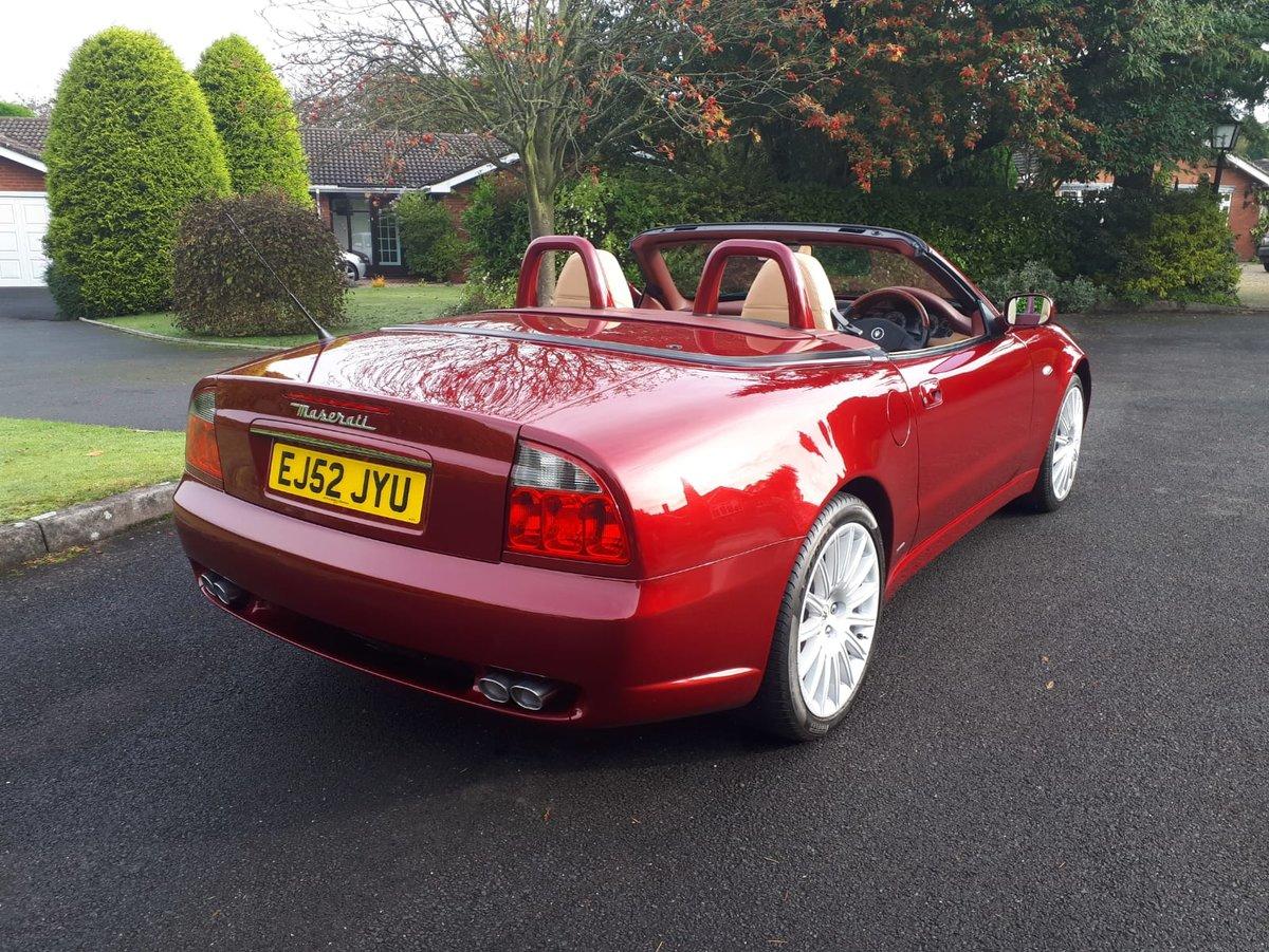 2003 Maserati 4200 Spyder Cambiocorsa Just 15,278 miles ...