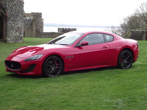 Maserati Oct 2015 only red (rosso mondiale) in uk