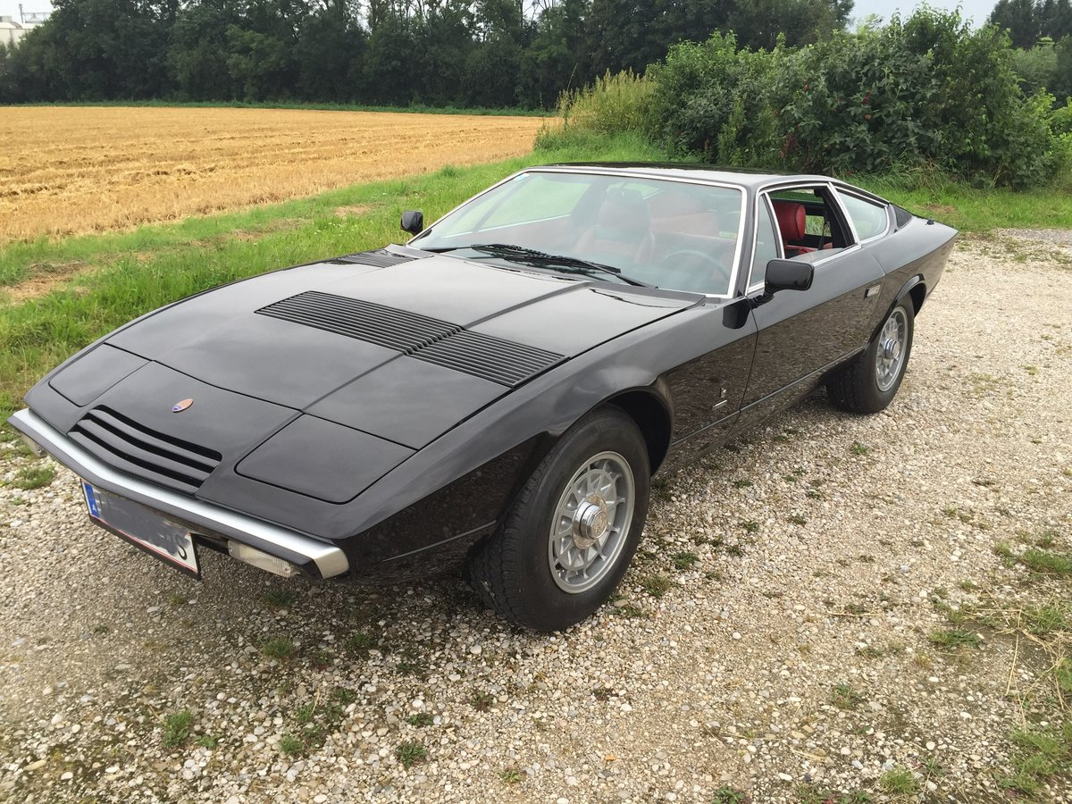 1975 REDUCED - LHD MASERATI KHAMSIN IN VERY ORIGINAL CONDITION For Sale (picture 1 of 6)
