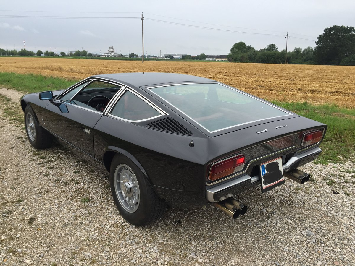 1975 REDUCED - LHD MASERATI KHAMSIN IN VERY ORIGINAL CONDITION For Sale (picture 2 of 6)