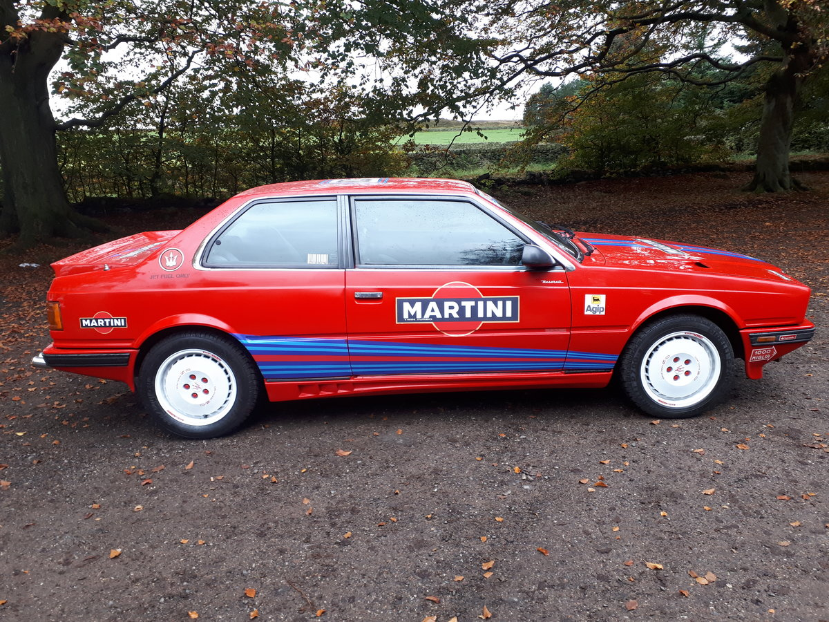 Maserat 222 2.8 boturbo 1990 race replica For Sale (picture 2 of 6)