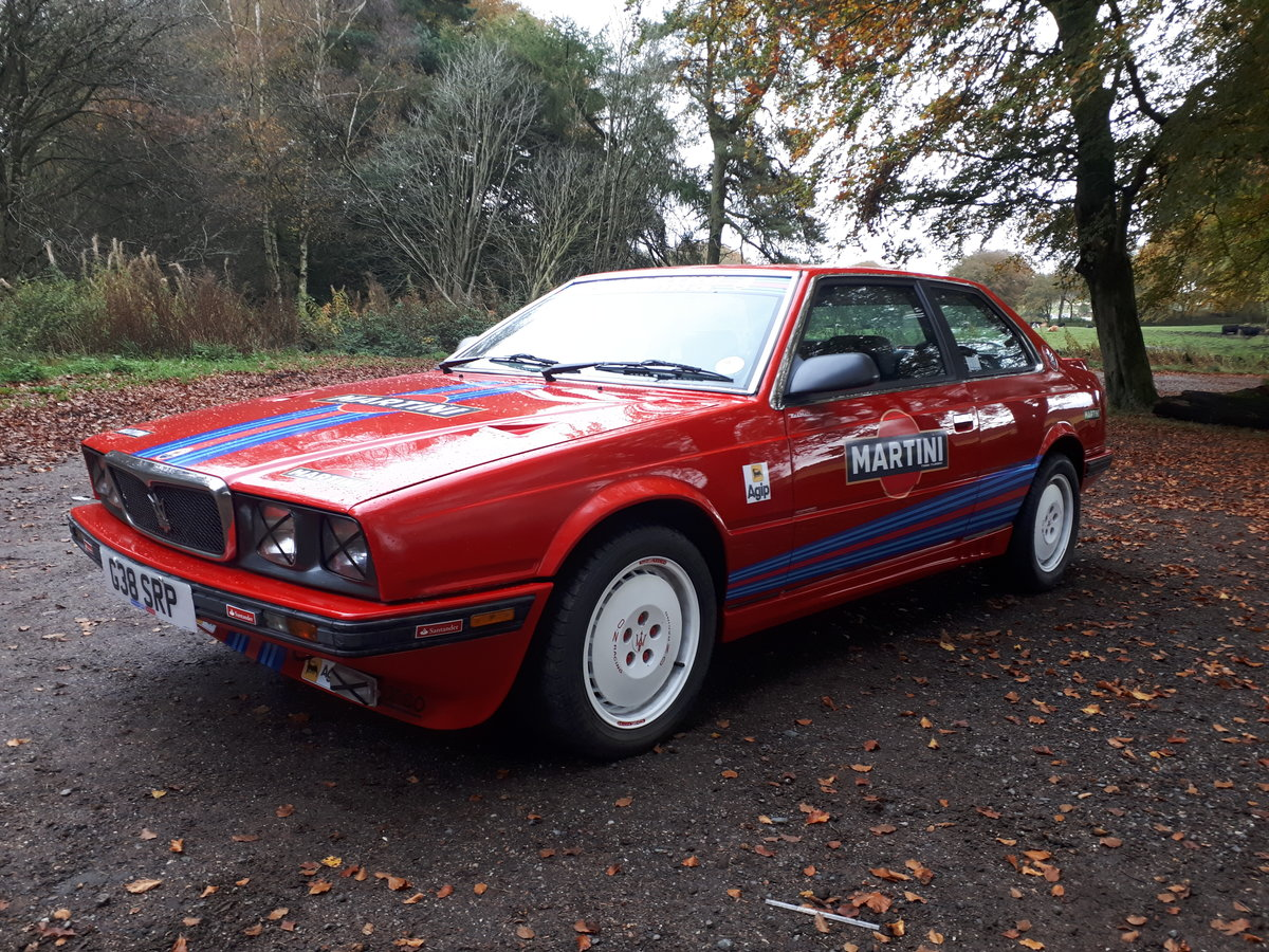 Maserat 222 2.8 boturbo 1990 race replica For Sale (picture 5 of 6)
