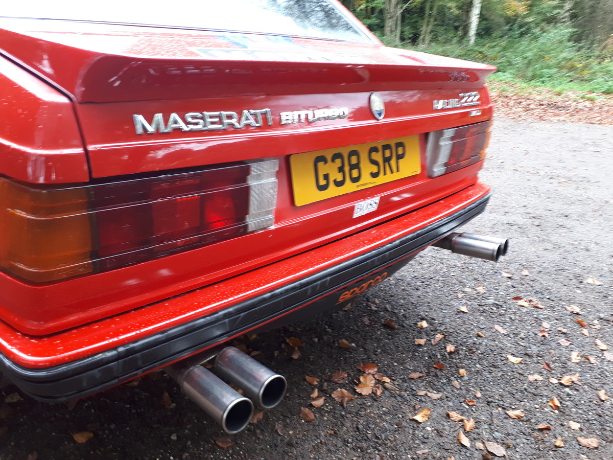 Maserat 222 2.8 boturbo 1990 race replica For Sale (picture 4 of 6)