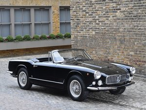 1961 Maserati 3500 GT Spider by Vignale For Sale by Auction