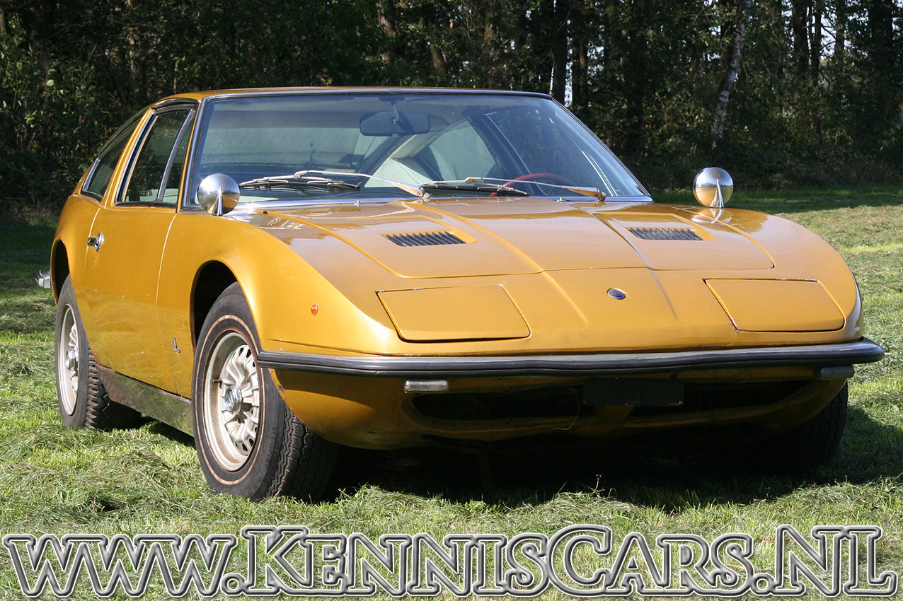 Maserati 1971 Indy 4700 Coupe Coupe  For Sale (picture 1 of 6)