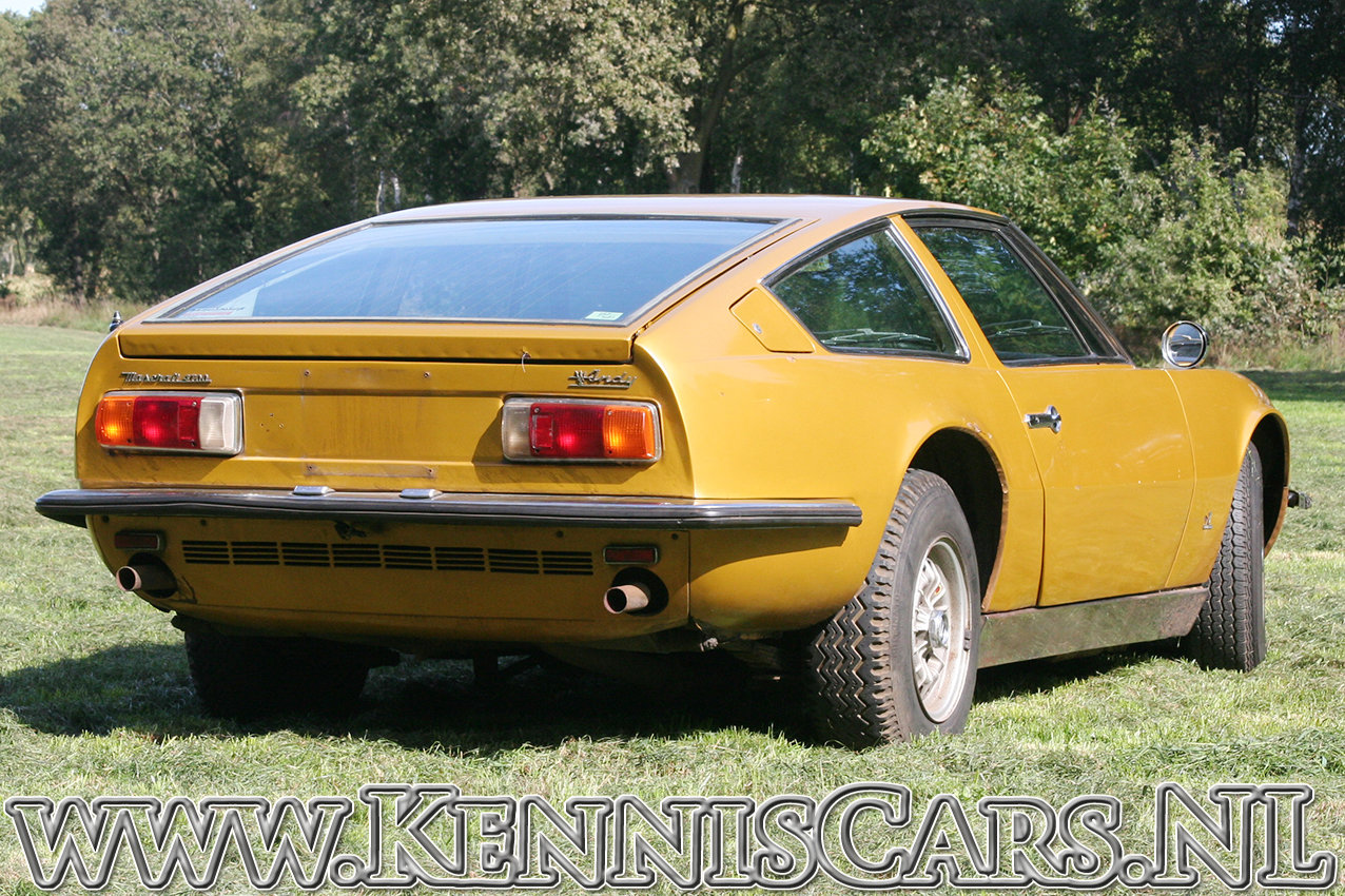 Maserati 1971 Indy 4700 Coupe Coupe  For Sale (picture 5 of 6)