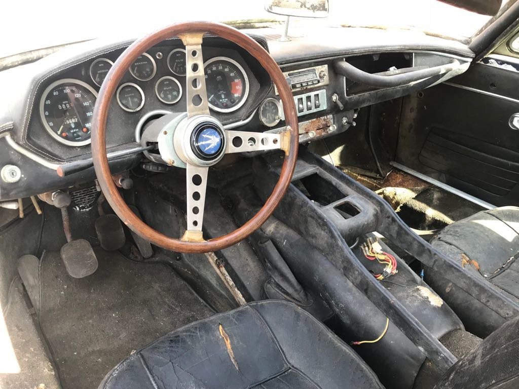 1967 Maserati Mistral 4.0 Liter Coupe #22543 For Sale (picture 4 of 5)
