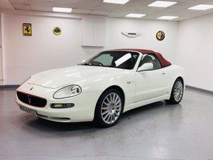 2003  Maserati 4200 V8 Cambiocorsa Spyder