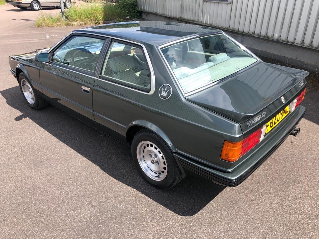 1989 Maserati 222 Biturbo 2.0 LHD For Sale   Car And Classic
