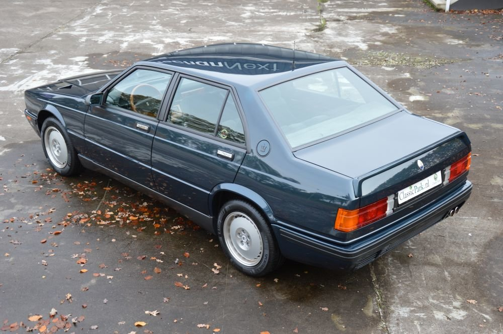 (1080) Maserati 4.18v Biturbo - 1991 For Sale (picture 2 of 6)