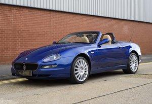 2002 Maserati 4200 Spyder Cambio Corsa (RHD)