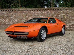 Maserati Merak 3000 SS matching numbers, delivered new in Be