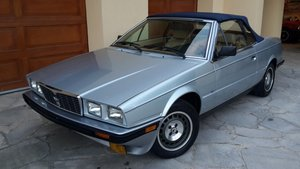 1986 Maserati Biturbo Spider Zagato in original cond. For Sale