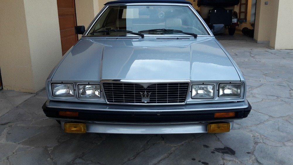 1986 Maserati Biturbo Spider Zagato in original cond. For ...