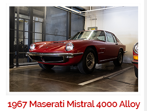 1967  Maserati Mistral 400 4.0 Rare Alloy 5 speed 92.5k