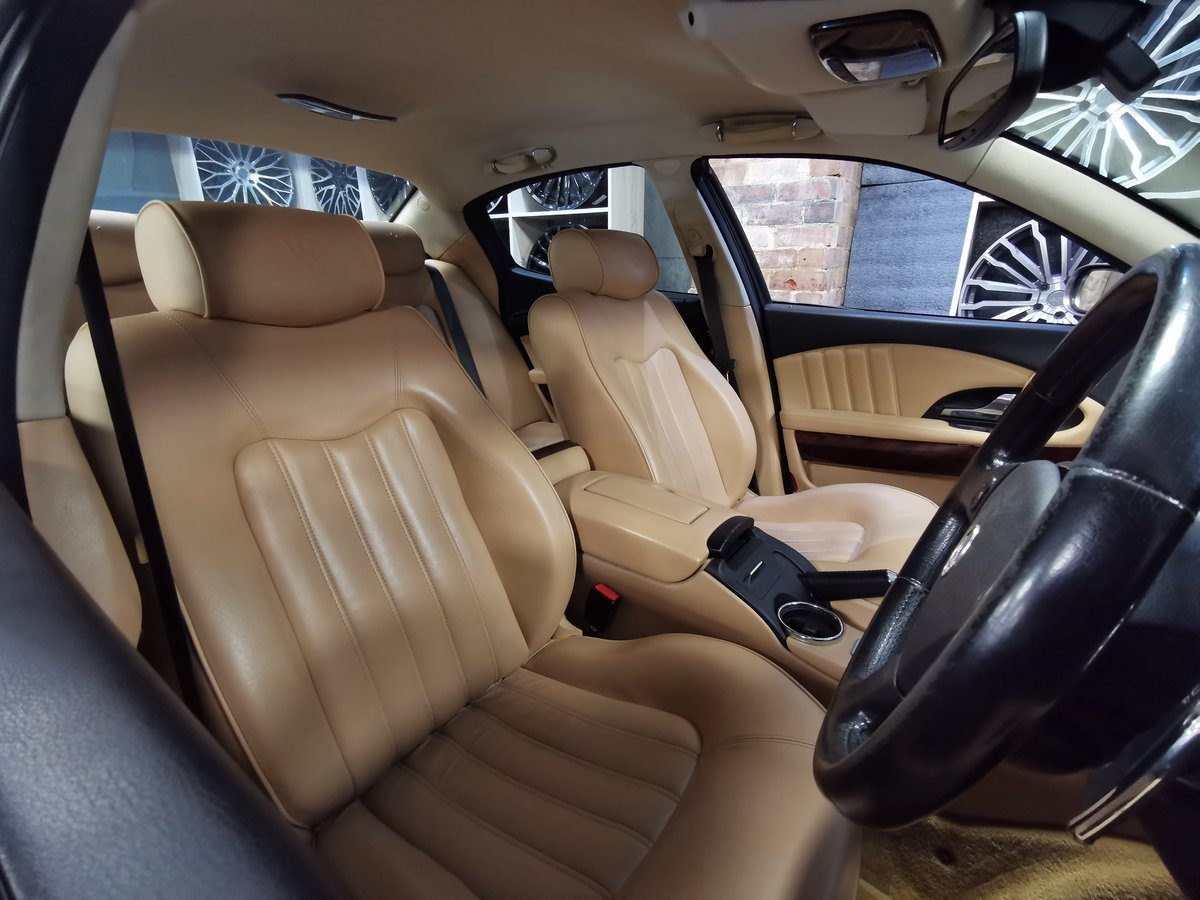 2005 Maserati Quattroporte AB4 4.2 S-A F1 SALOON PETROL For Sale (picture 5 of 6)