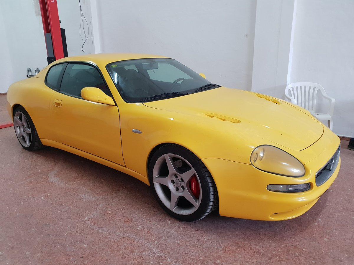 1999 MASERATI 3200 GT LHD 1 of 41 yellow For Sale (picture 1 of 1)
