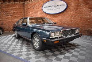1985 Maserati Quattroporte III SOLD