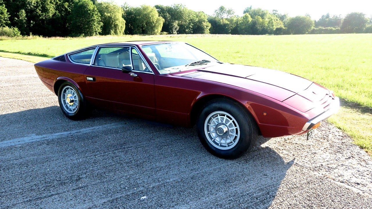 1977 Maserati Khamsin RHD Exceptional. For Sale (picture 1 of 6)