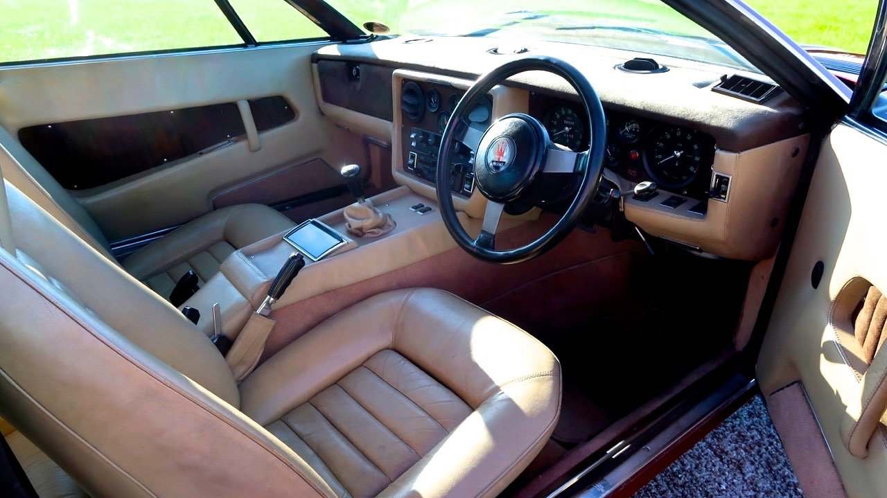 1977 Maserati Khamsin RHD Exceptional. For Sale (picture 5 of 6)