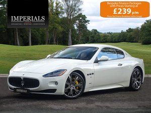 Maserati  GRANTURISMO S MC SHIFT COUPE AUTO  S  34,948