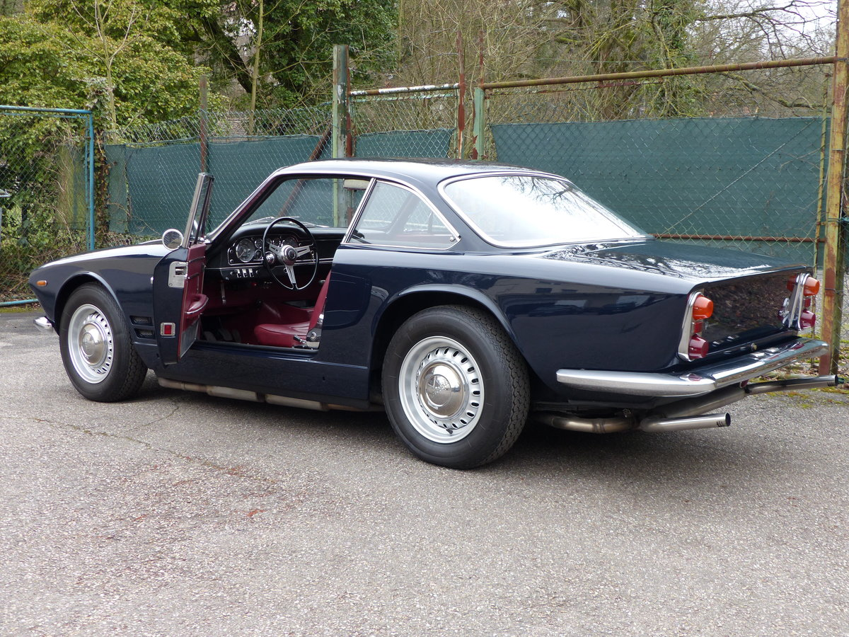 1963 Fantastic Maserati Sebring Mk1, dark-blue, red leather For Sale (picture 4 of 6)