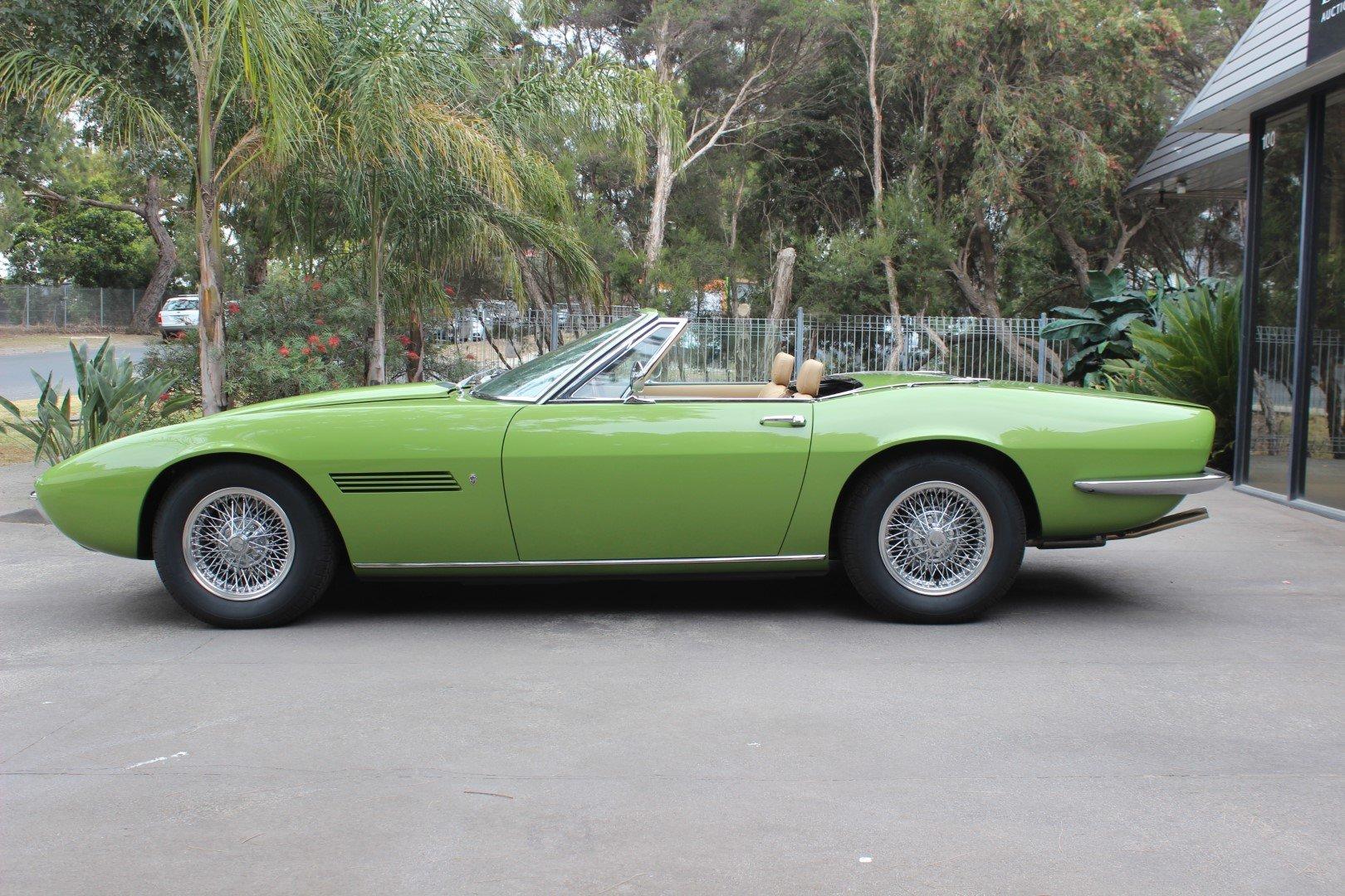 Maserati Ghibli 1969 For Sale (picture 1 of 6)