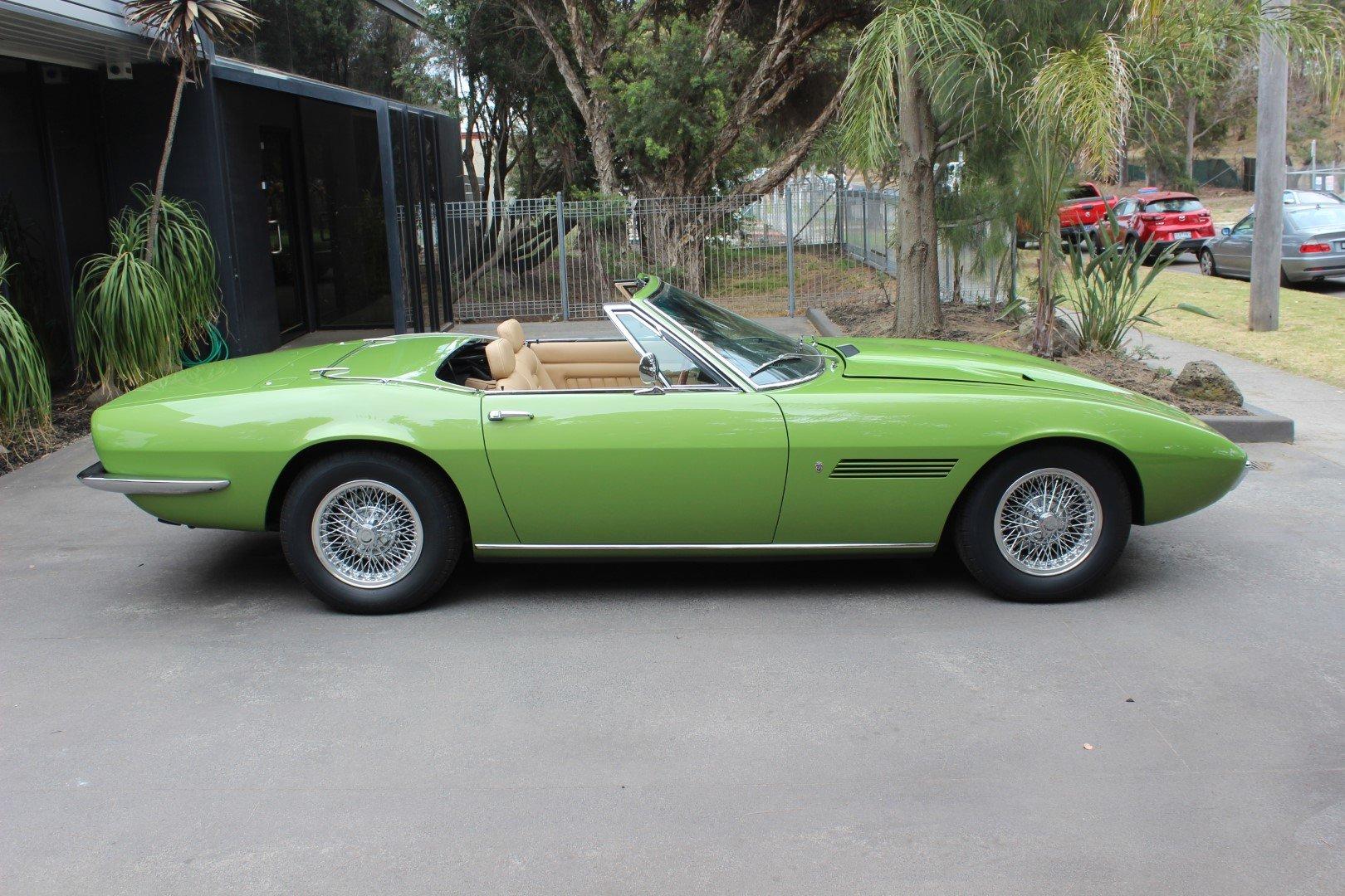 Maserati Ghibli 1969 For Sale (picture 2 of 6)