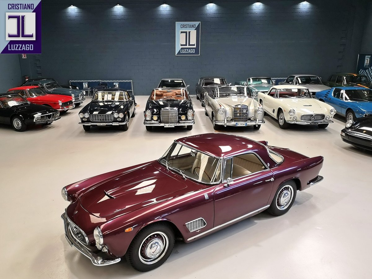 EARLY  1959 MASERATI 3500 GT TOURING SUPERLEGGERA For Sale (picture 1 of 6)