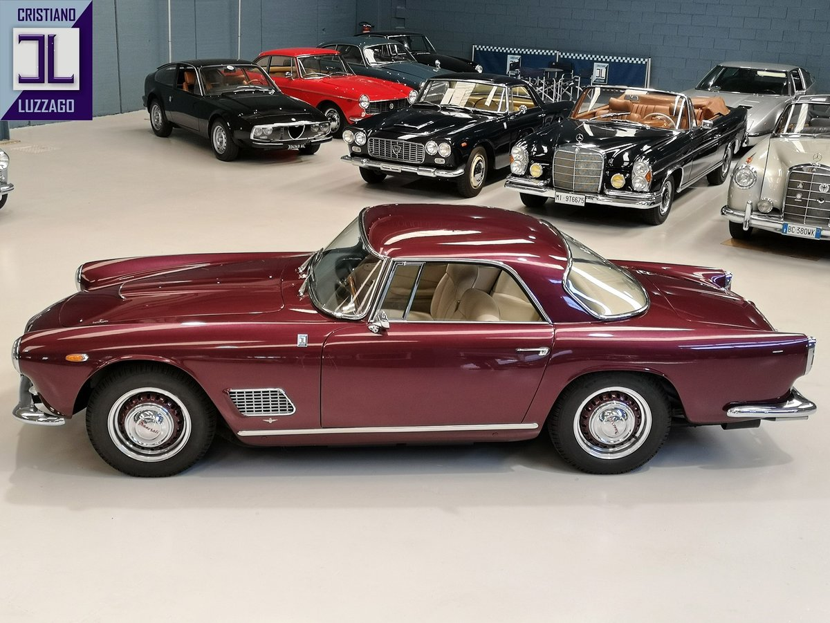 EARLY  1959 MASERATI 3500 GT TOURING SUPERLEGGERA For Sale (picture 2 of 6)