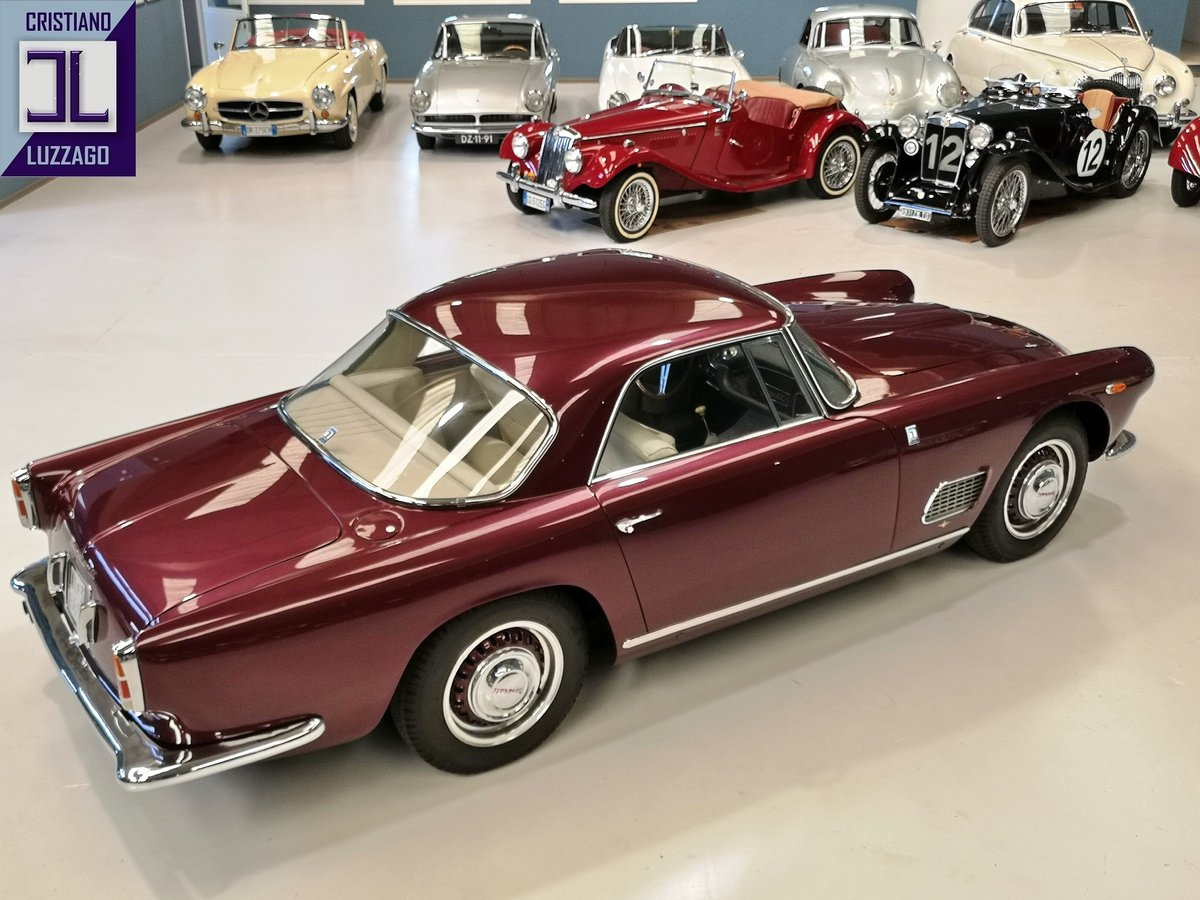 EARLY  1959 MASERATI 3500 GT TOURING SUPERLEGGERA For Sale (picture 3 of 6)