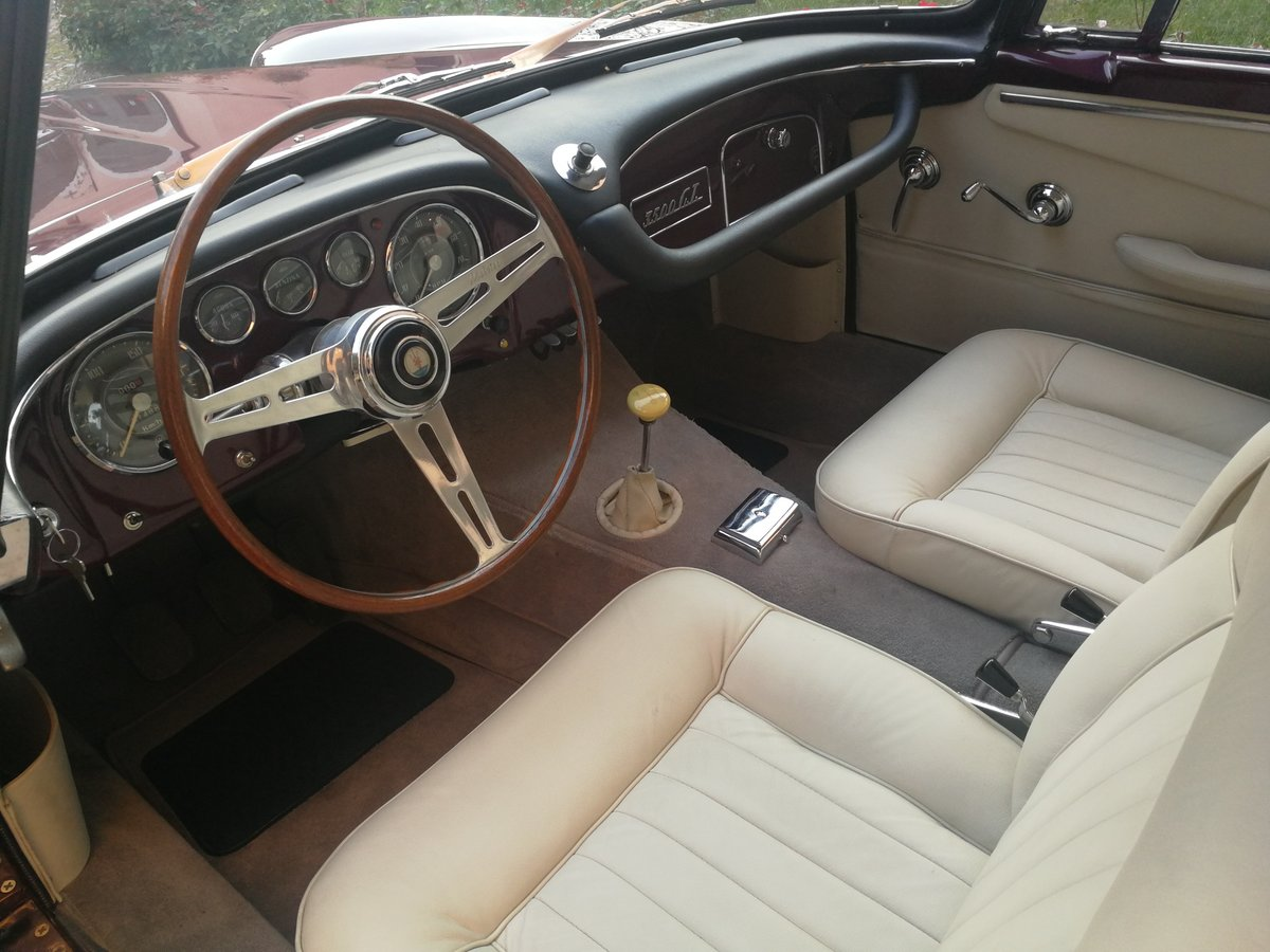EARLY  1959 MASERATI 3500 GT TOURING SUPERLEGGERA For Sale (picture 4 of 6)