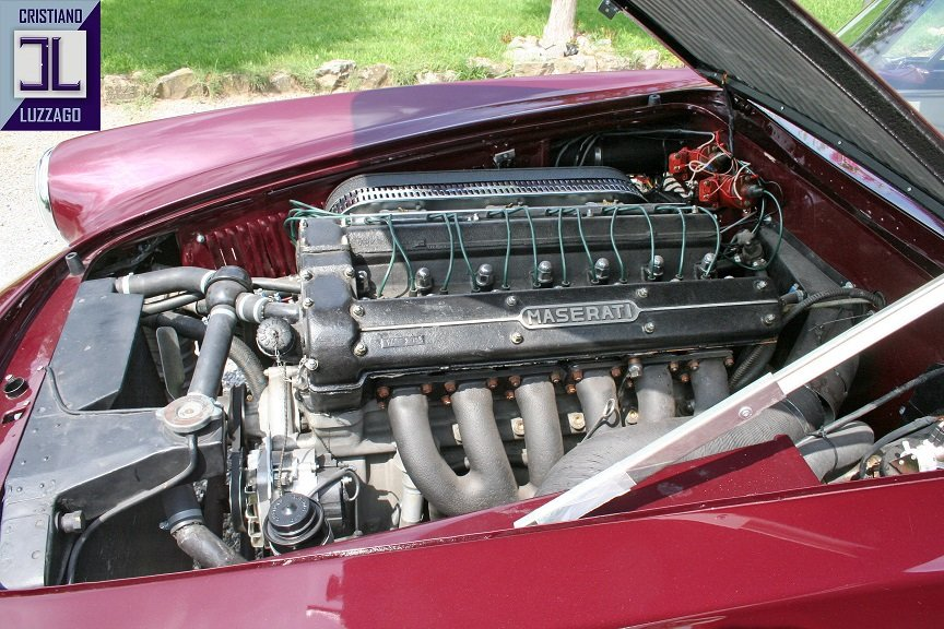 EARLY  1959 MASERATI 3500 GT TOURING SUPERLEGGERA For Sale (picture 5 of 6)