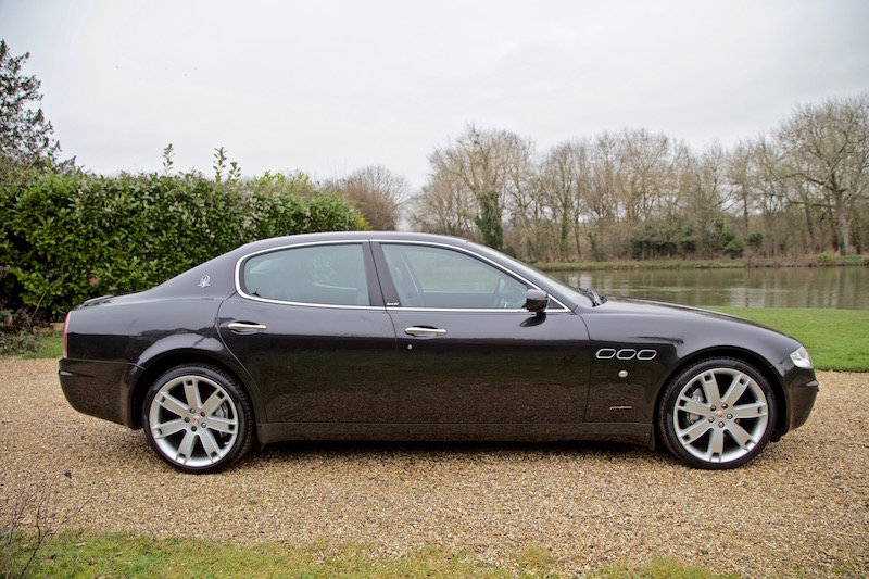 2007 MASERATI QUATTROPORTE SPORT GT  SOLD (picture 3 of 6)