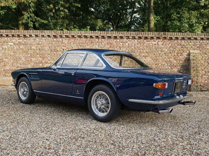 1966 Maserati Sebring 3500 GTi series 2 matching numbers,restored For Sale (picture 2 of 6)