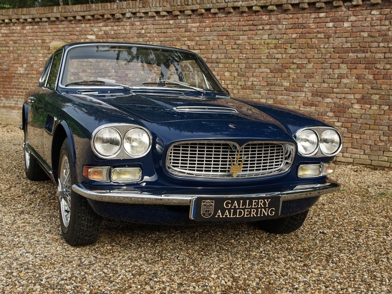 1966 Maserati Sebring 3500 GTi series 2 matching numbers,restored For Sale (picture 5 of 6)