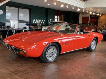1971 Maserati Ghibli Spyder Convertible Rare 1 of 125 made