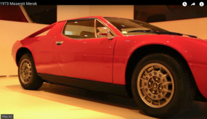 1979 Maserati Merak SS Reto Project For Sale by Auction
