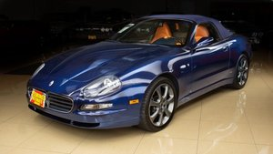 2005 Maserati  Spyder Cambiocorsa clean Blue(~)Ginger $23.9k