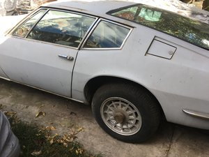 1968 Maserati Ghibli restoration project For Sale
