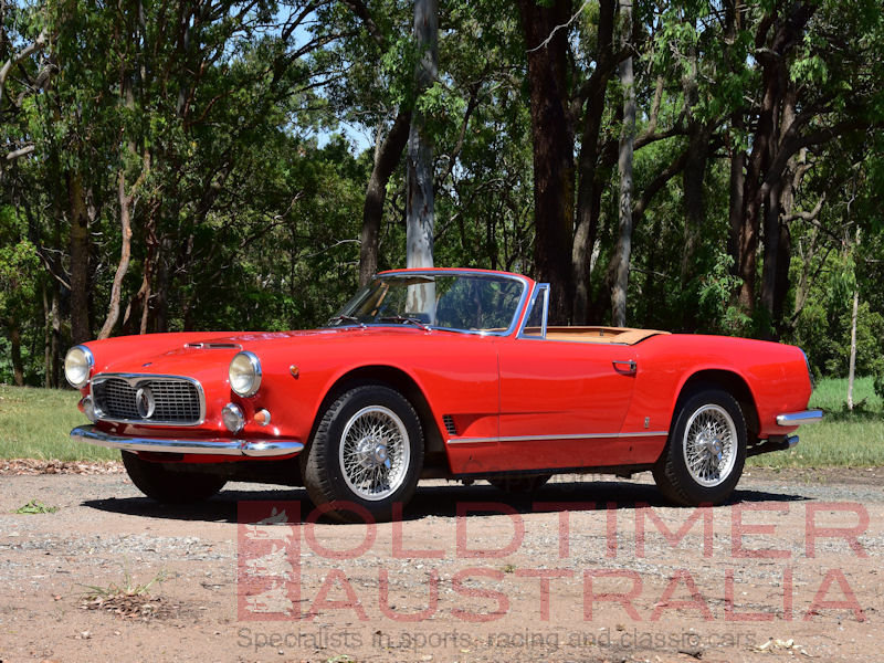 1961 Maserati 3500 GT Spyder by Vignale For Sale (picture 1 of 6)
