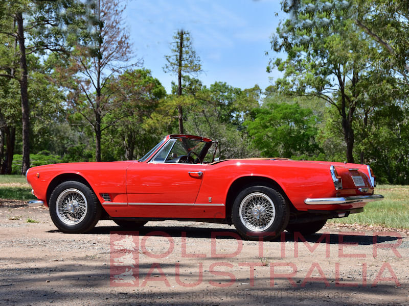 1961 Maserati 3500 GT Spyder by Vignale For Sale (picture 2 of 6)