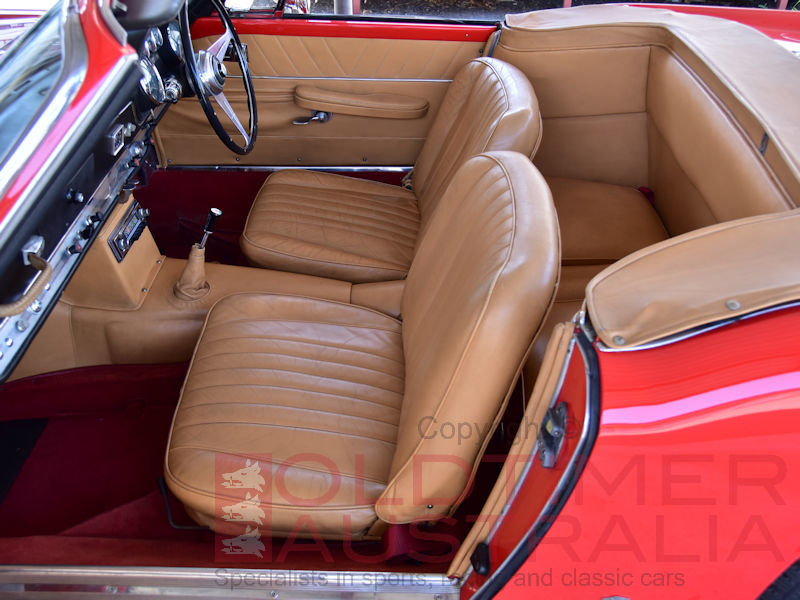 1961 Maserati 3500 GT Spyder by Vignale For Sale (picture 5 of 6)