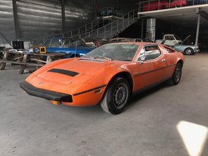 1975 Maserati Merak 3000 SS matching numbers, delivered new in Be