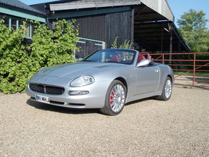 2003 Maserati 4200 GT Spyder Cambiocorsa For Sale by Auction