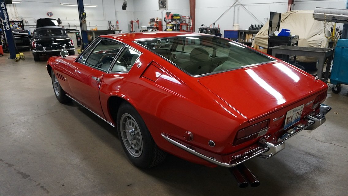 #23237 1971 Maserati Ghibli 4.9 SS Coupe: For Sale (picture 3 of 6)