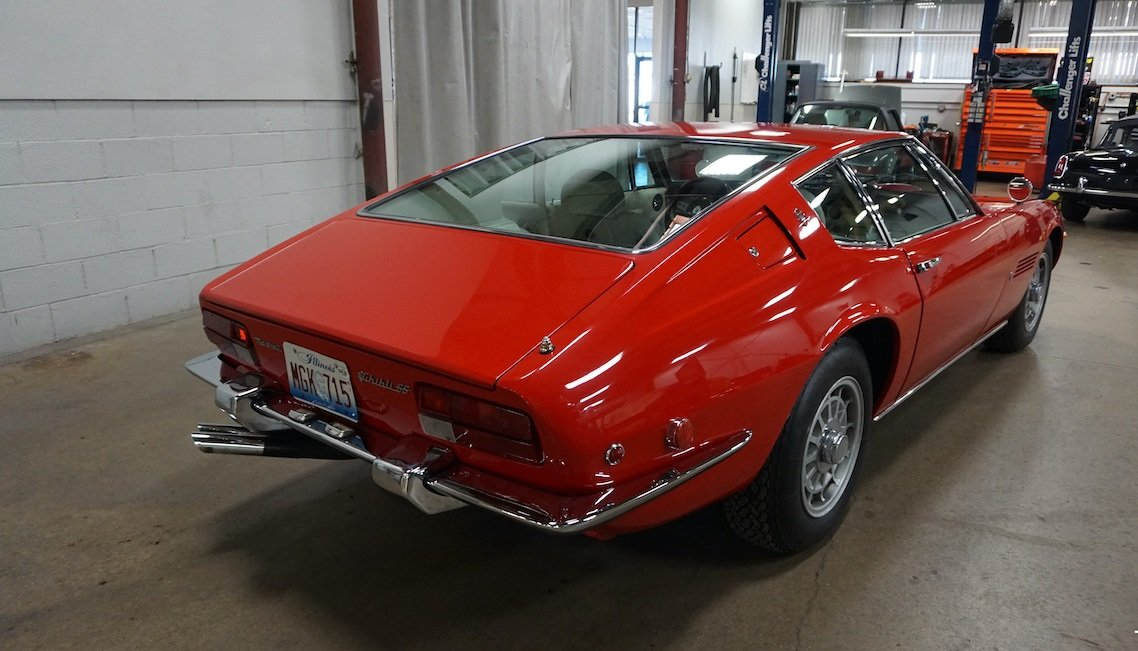 #23237 1971 Maserati Ghibli 4.9 SS Coupe: For Sale (picture 4 of 6)