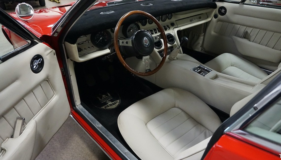 #23237 1971 Maserati Ghibli 4.9 SS Coupe: For Sale (picture 5 of 6)