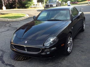 2002 Maserati Cambiocorsa Coupe  For Sale by Auction